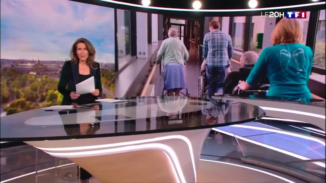 TF1 - reportage  «ouverture des ehpad»