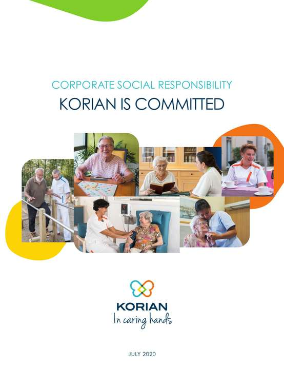 Corporate social responsability : Korian is committed