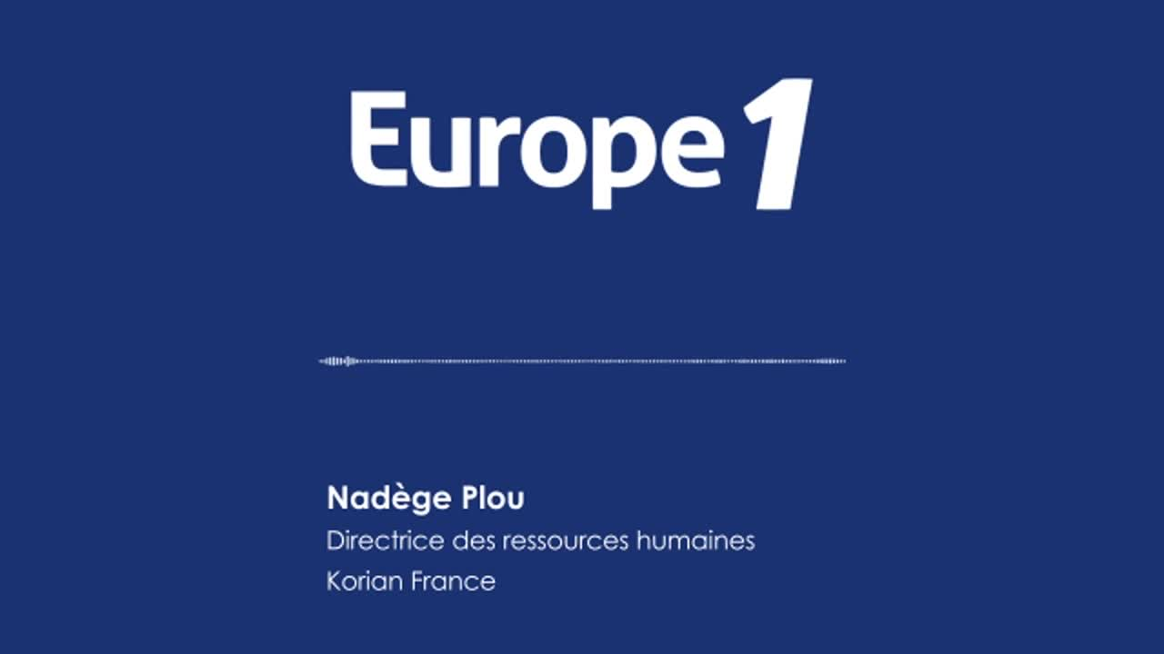 EUROPE 1 - Audio intégral de l'interview de Nadège Plou